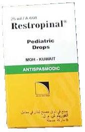 صورة,دواء,علاج, عبوة, ريستروبينال, Restropinal
