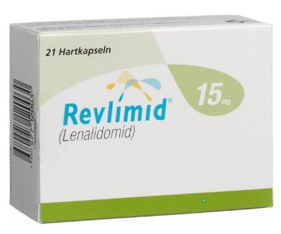 صورة , عبوة , دواء , كبسولات , لعلاج متلازمة خلل النسيج النقوي , ريفليميد , Revlimid
