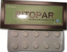 صورة,عبوة, أقراص, ريتوبار, Ritopar