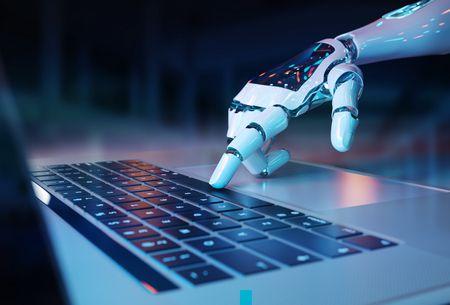 صورة , روبوت , الذكاء الاصطناعي