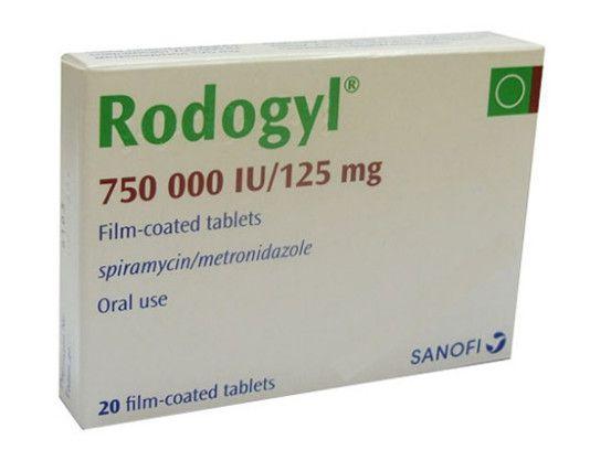 صورة , عبوة , دواء , مضاد حيوي , رودوجيل , Rodogyl