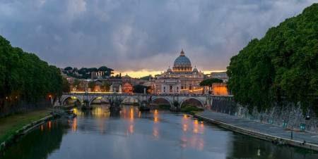 روما ، إيطاليا ، المنتدى الروماني ، هضبة بالاتين ، ساحة نوفانا ، المدرجات الإسبانية
