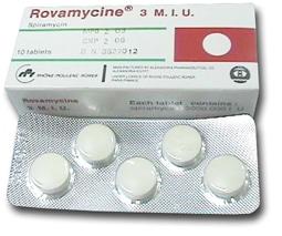 صورة,عبوة, روفاميسين, Rovamycin