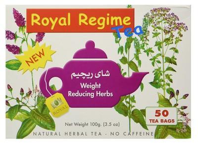 صورة,شاي للتخسيس, عبوة, شاي رويال للرجيم , Royal Regime Tea