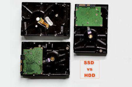 SSD vs HDD , القرص الصلب , الهارد ديسك