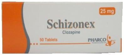 صورة,عبوة,دواء, سكيزونكس, Schizonex