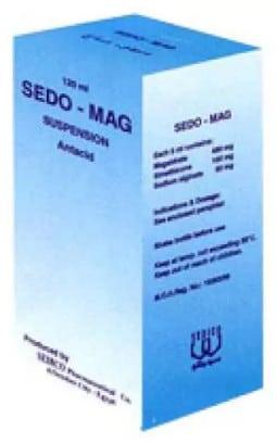 صورة , عبوة , دواء , معلق , علاج القرحة , سيدو ماج , Sedo-Mag