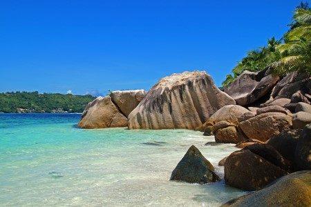 جزر سيشل ، الفنادق ، منتجع كونستانس إيفيليا ، بيشكومبر سانت ، فور سيزونز ريزورت ، جزيرة سيرف