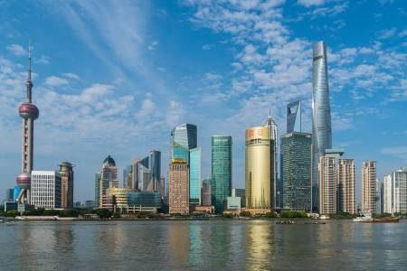 شنغهاي ، الصين ، بوند ، لؤلؤة الشرق ، حديقة الحيوانات ، شارع نانجين