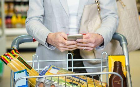 صورة , إمرأة , التسوق , الضريبة الوردية