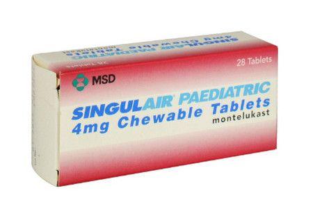 صورة , عبوة , دواء , لعلاج الربو , سينقولير , Singulair-Paediatric