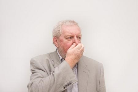 التهاب, الجيوب الأنفية,صورة,رجل