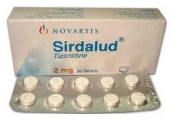 صورة , عبوة , دواء , سيردالود , Sirdalud 2mg