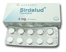 صورة , عبوة , دواء , سيردالود , Sirdalud 4mg