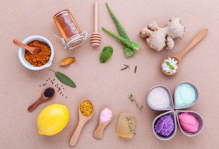 Skin Care ، العناية بالبشرة، البشرة الدهنية ، صورة