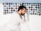 صورة , رجل نائم , النوم الصحي