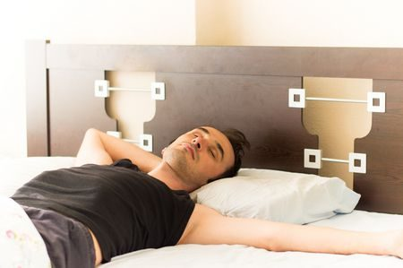 صورة , رجل , النوم , الأحلام