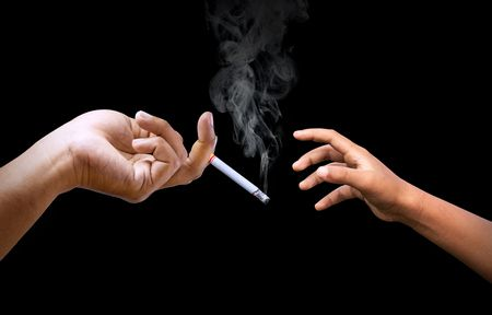 صورة , التدخين , سيجارة , تدخين المراهقين
