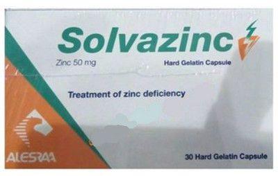 صورة,دواء,علاج, عبوة, سولفازنك , Solvazinc