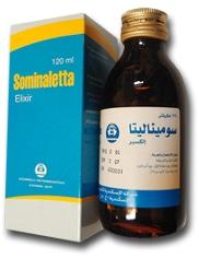 صورة , عبوة , دواء , سوميناليتا , شراب , Sominaletta