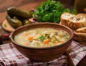 صورة , حساء , الشوربة , طعام
