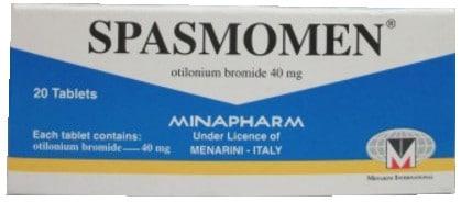 صورة, عبوة ,دواء,سبازمومين, Spasmomen