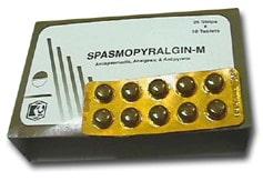 صورة , عبوة , دواء , سبازموبيرالجين م , Spasmopyralgin-M