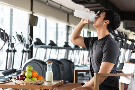 صورة , رجل , النظام الغذائي , الرياضيين
