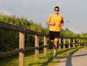 صورة , رجل , الجري , ممارسة الرياضة