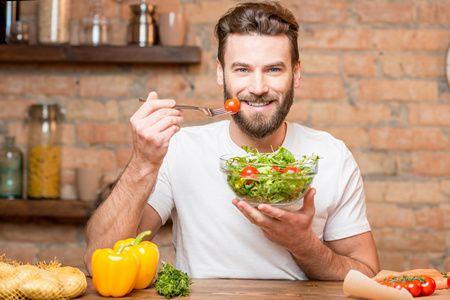 صورة , رجل , التغذية , الرياضيين
