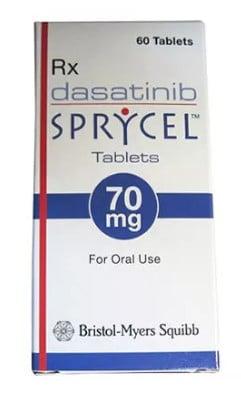 صورة , عبوة , دواء , أقراص , لعلاج مرض ابيضاض الدم , سبرايسل , Sprycel