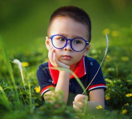 حَول العين،صورة،طفل