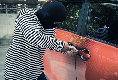 صورة , السرقة , لص , أغبى اللصوص , سيارة