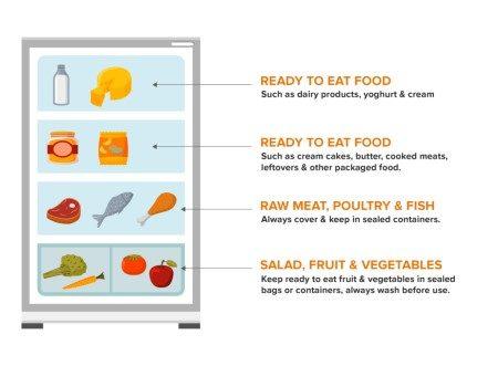 تخزين الطعام ، الطعام الجيد ، الغذاء الصحي ، تجميد الأطعمة