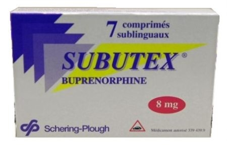 صورة , عبوة , دواء , لعلاج الإدمان , سوبوتكس , Subutex