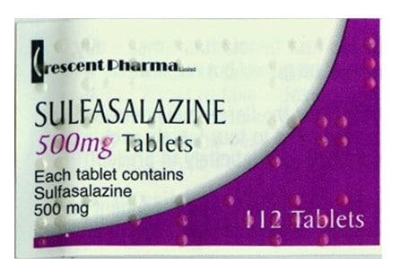صورة , عبوة , دواء , مضاد للإلتهاب , سلفاسالازين , Sulfasalazine