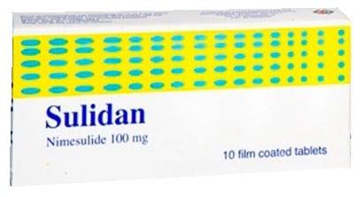 صورة , عبوة , دواء , أقراص , مسكن للألم , سوليدان , Sulidan