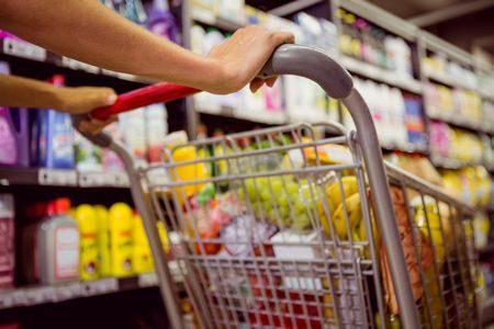 صورة , سوبر ماركت , المعلبات الغذائية , الأطعمة
