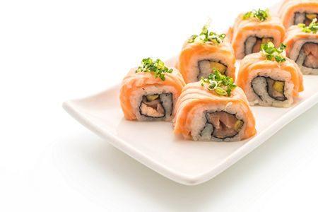 صورة , السوشي , السمك النيء