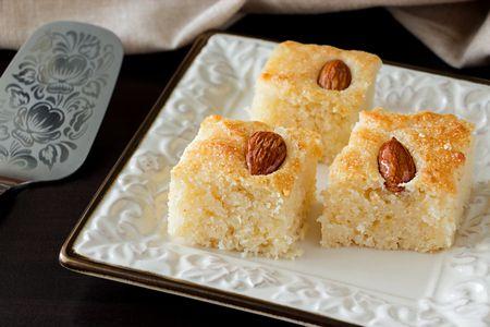 صورة , بسبوسة , الحلويات المصرية