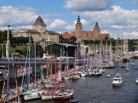 مدينة شتشيتسين ، Szczecin ، بولندا ، صورة