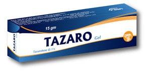 صورة , عبوة , دواء , جل , لعلاج الصدفية , تازارو , Tazaro
