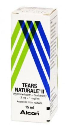 صورة , عبوة , دواء , قطرة , لعلاج جفاف العين , تيرس ناتورال , Tears Natural II