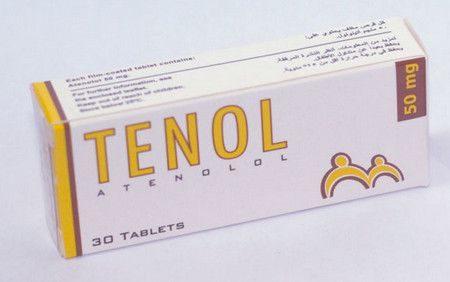 دواء تينول ، صورة Tenol