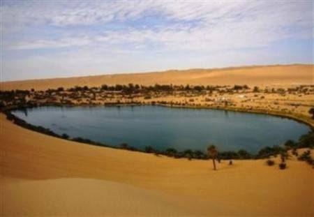 الواحات المصرية ، آبار موط ، الصحراء السوداء ، كهف الجارة ، جبل الكريستال ، بحر الرمال الأعظم
