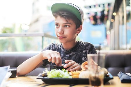 نظام غذائي , المراهقين