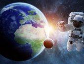 صورة , رجل فضاء , القمر , كوكب عطارد