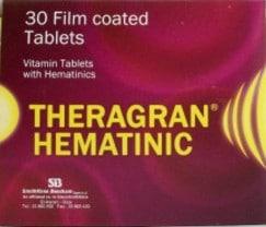 صورة , عبوة , دواء , ثيراجران هيماتينيك , Theragran Hematinic