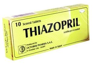 صورة, عبوة ,ثيازوبريل ,Thiazopril