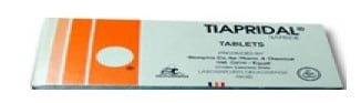 صورة , عبوة , دواء , أقراص , تيابريدال , اضطرابات السلوك , Tiapridal